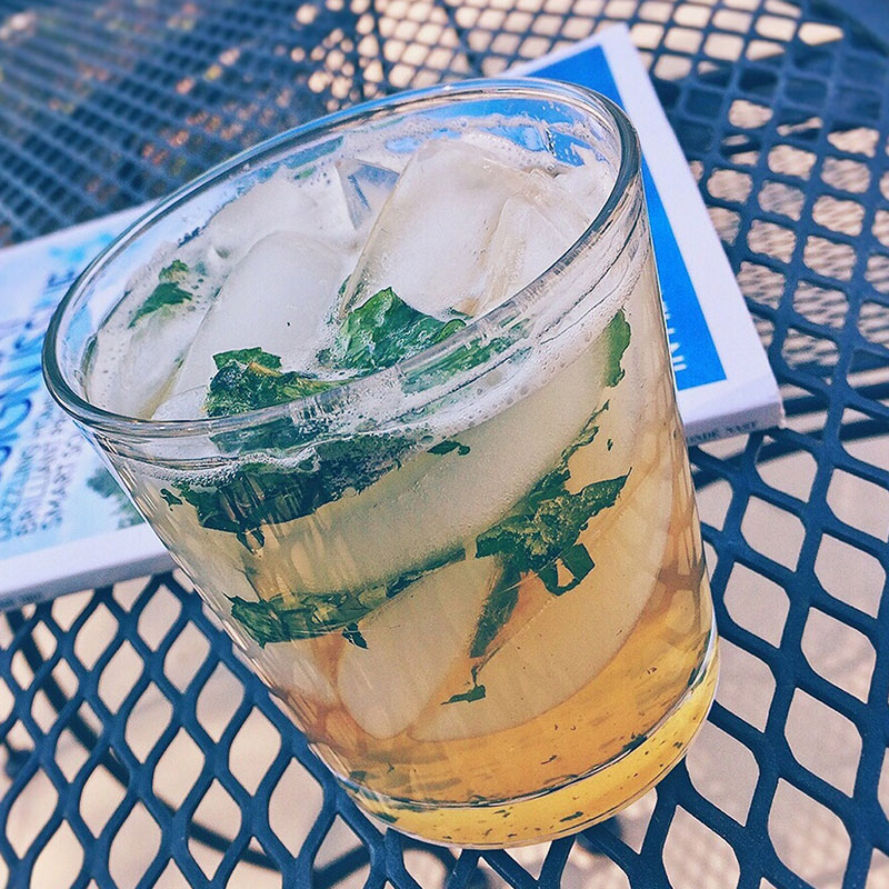 Glass of Triple Crown Julep