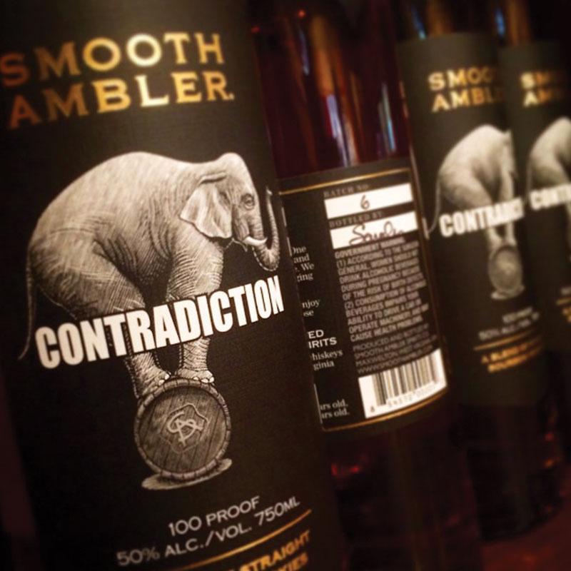 Smooth Ambler Contradiction Blended Bourbon