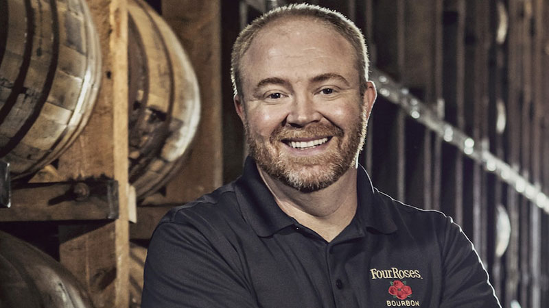 Brent Elliot Master Distiller at Four Roses Bourbon