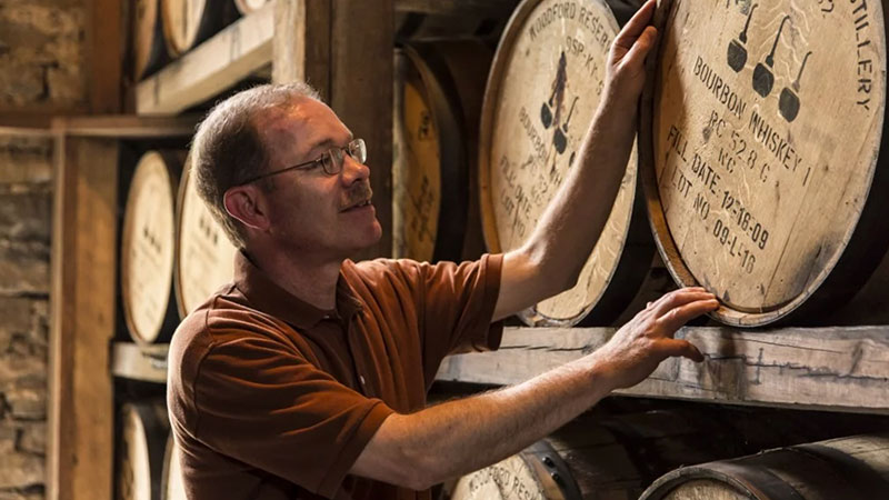 Chris Morris Master Distiller at Woodford Reserve