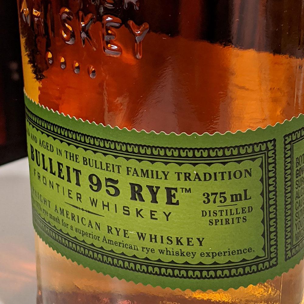 Bulleit Rye 95 Bourbon